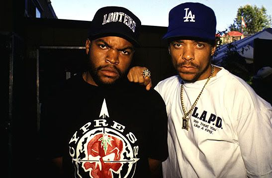 When they were hard lol...ice cube & ice-t