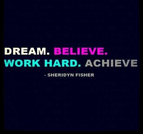 Quotes About Hard Work And Dreams