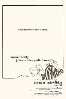 Shampoo (1975) Warren Beatty, Julie Christie, Goldie Hawn, Lee Grant