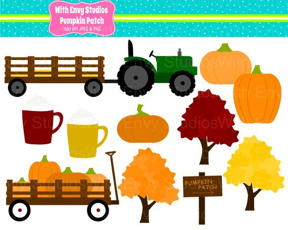 Clip Art Hayride Clipart 1000 images about digital clipart on pinterest pumpkin patch personal and commerical use by withenvypaper 3 00