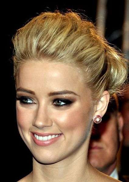 Amber Heard--Her breakthrough came in 2008 with roles in Never Back Down and Pineapple Express.She was awarded with Breakthrough Award at Young Hollywood Awards. She got widespread attention after her appearance in films such as The Informers, The Stepfather, Zombieland and The Joneses