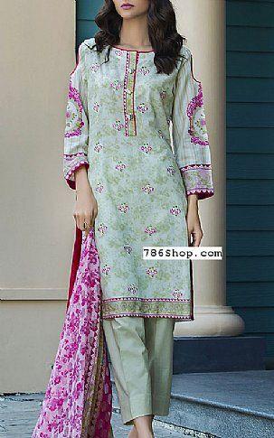 bd7f3a8402 Light Pistachio Lawn Suit | Buy Kalyan Pakistani Dresses and Clothing  online in USA, UK
