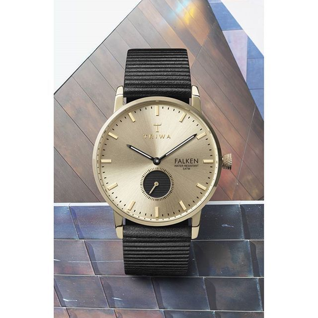 Ray Falken, inspired by the long Swedish summer nights. When the pastel shades of the buildings and the city's copper rooftops change through the gloaming period.  shop at; https://www.triwa.com/en-ms/watches/family/falken/ray-falken/