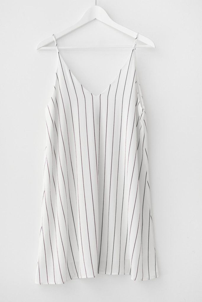 Pinstriped dress - www.shoplovestreet.com