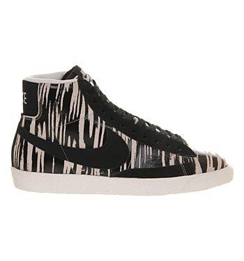 official photos 41002 f0951 ... Nike Blazer Hi Suede Vintage Black White Zebra Exclusive - Unisex  Sports .