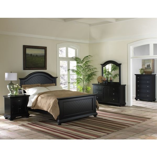 Napa Black Bedroom 5 Piece Set | Overstock.com Shopping   The Best Deals