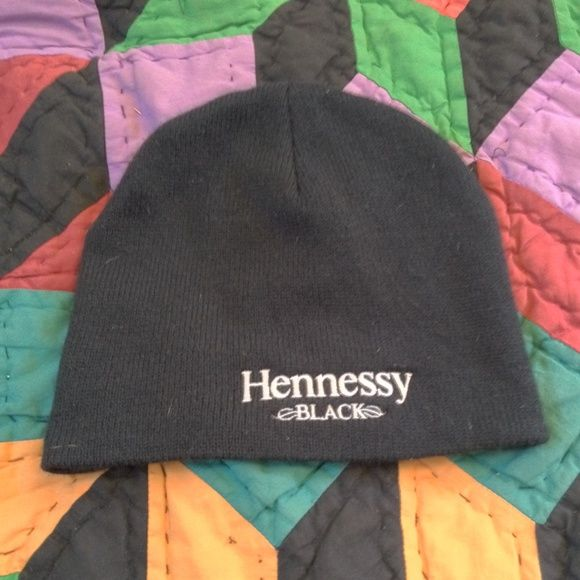 Hennessy beanie Black Hennessy black beanie worn once hennessy Accessories Hats
