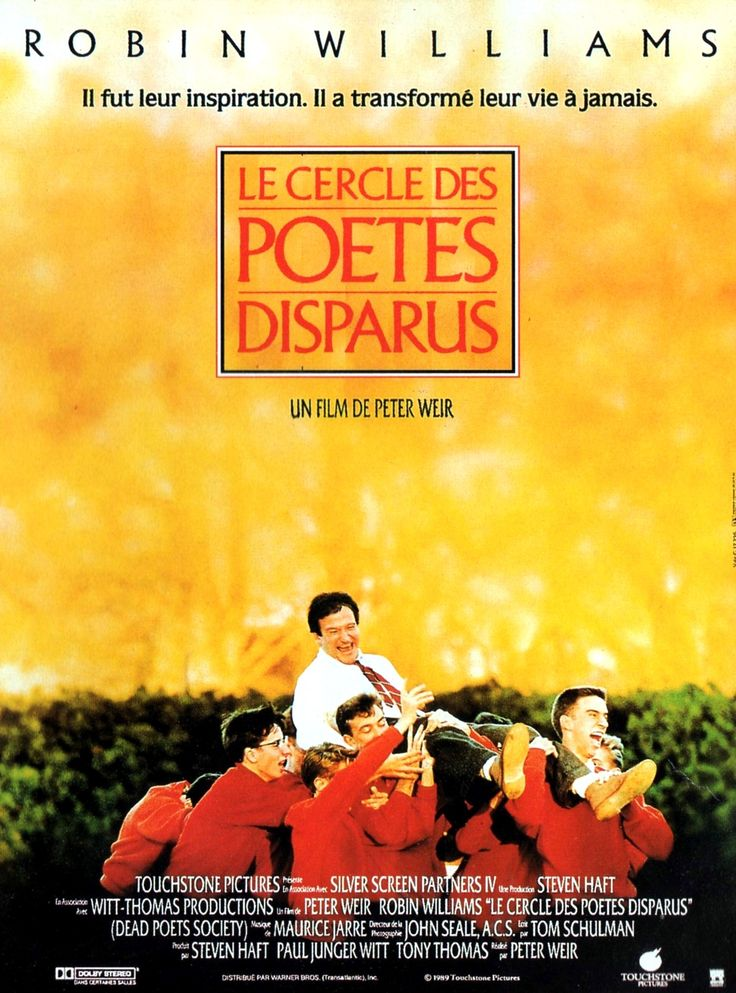 """the concept of transcendentalism in the movie dead poets society The 1989 film dead poets society revisits transcendentalism in it, several boys attending a staunch private academy are deeply affected by their new english teacher mr keating, or """"o."""