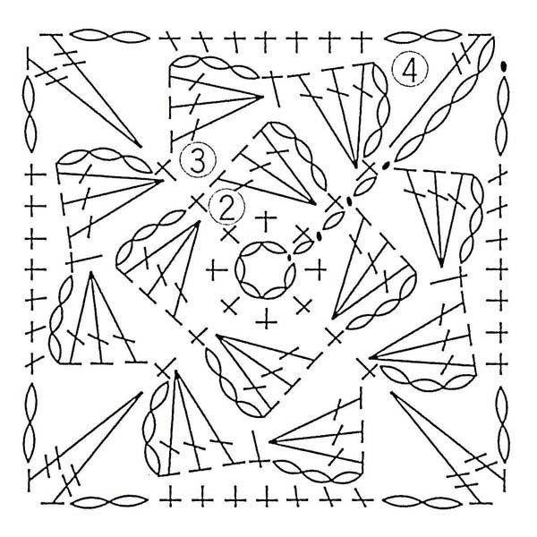 25  unique crochet motif ideas on pinterest