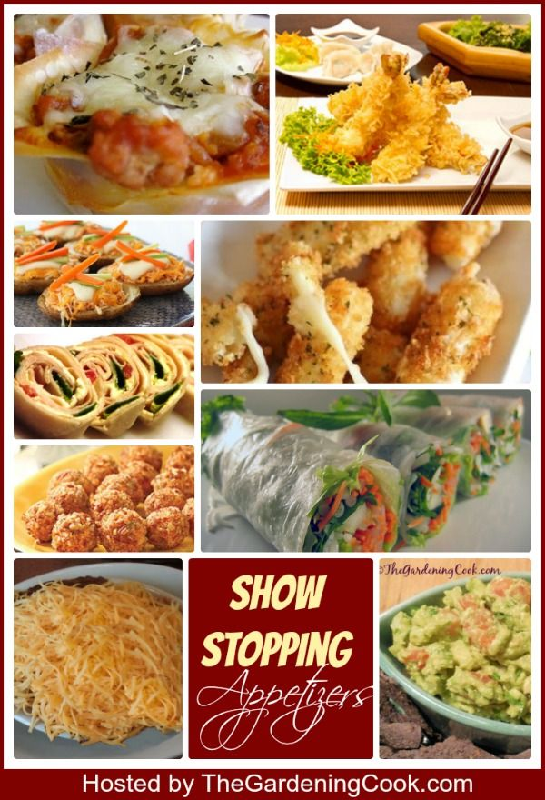 323 best appetizers images on pinterest appetizer for Great party appetizer recipes