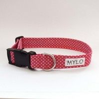 MR MYLO hot pink dog collar