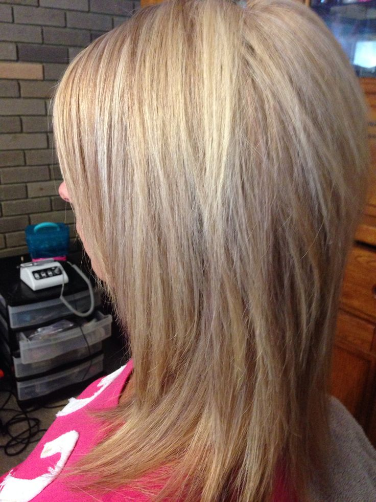 Fall Copper Lowlights With Multi Blonde Hair Sara S Hair
