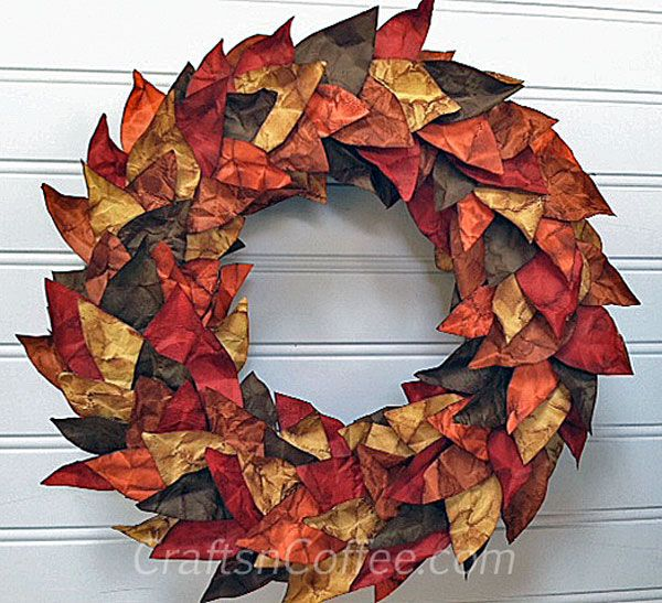 95 best images about fall leaf crafts leaf decor and more for Leaf crafts for adults