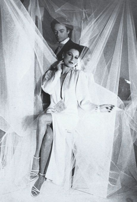 Manuela Papatakis by Cecil Beaton