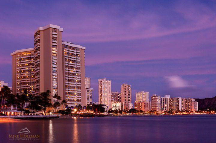 Waikiki Beach, Honolulu  www.mikehollman.com