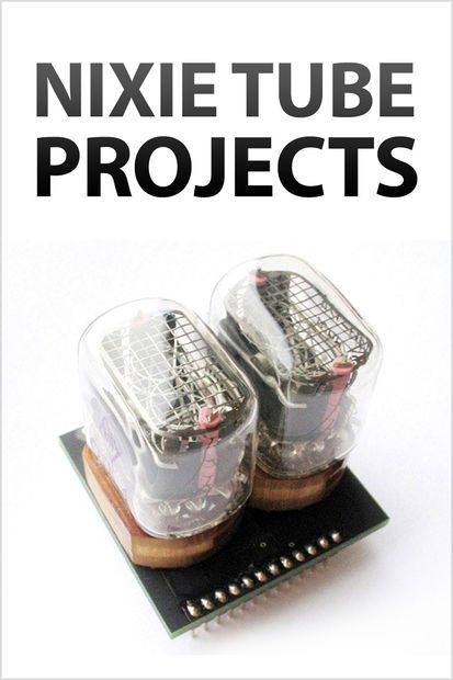 Nixie tube projects