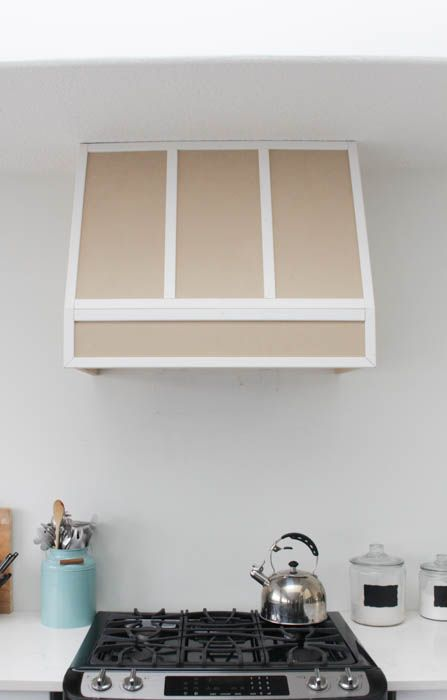 How to make your own wooden range hood fan for a Braun Fan Insert from build.com at thehappyhousie.com-37