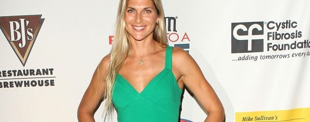 Gabrielle Reece dishes on the hardest part about being a working mom. (Getty Images)