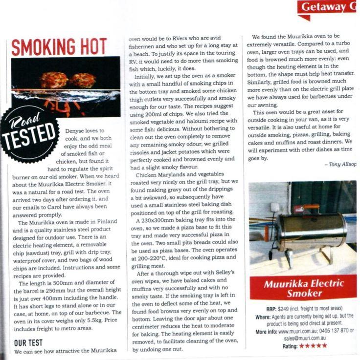 Electric Smoker Caravan World Review | Muurikka Electric Smoker