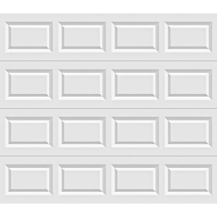 Clopay Value Series 8 Ft X 7 Ft Non Insulated Garage Door Garage Doors White Garage Doors Garage Door Styles