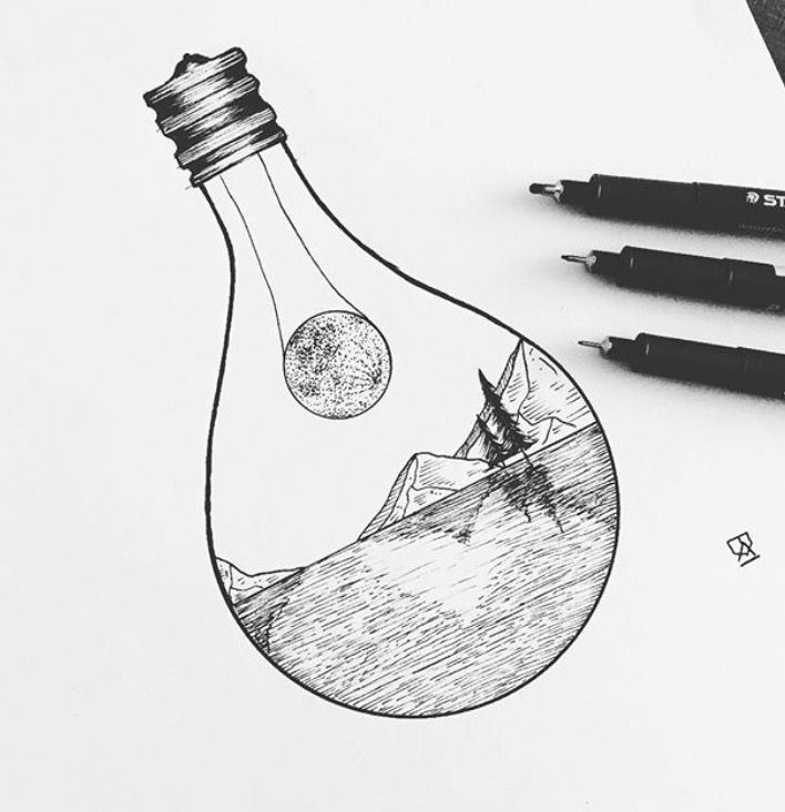 Best 25 easy sketches ideas on pinterest easy drawings for Simple black and white drawing ideas