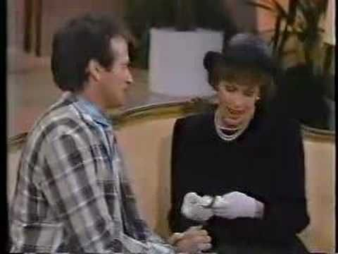"""Robin Williams & Carol Burnett...two master comics meet up at """"The Funeral"""".  This is hilarious and their timing is impeccable.  I dare you not to laugh!"""