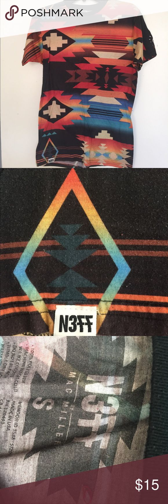 Neff by Mac Miller Men's Tee Mens t shirt size small, from NEFF's Mac Miller collection. Great condition, a little bit of pilling but that's just how the material ages. Overall, an awesome top from a retired collection Neff Shirts Tees - Short Sleeve