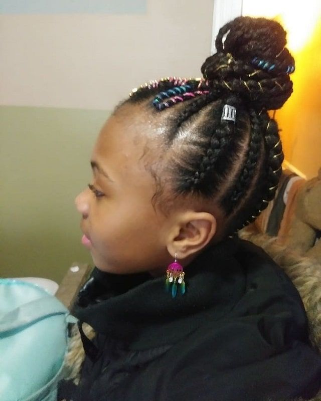 10 Adorable Weave Hairstyles For Little Girls To Explore Weave Hairstyles Hair Styles Kids Hairstyles