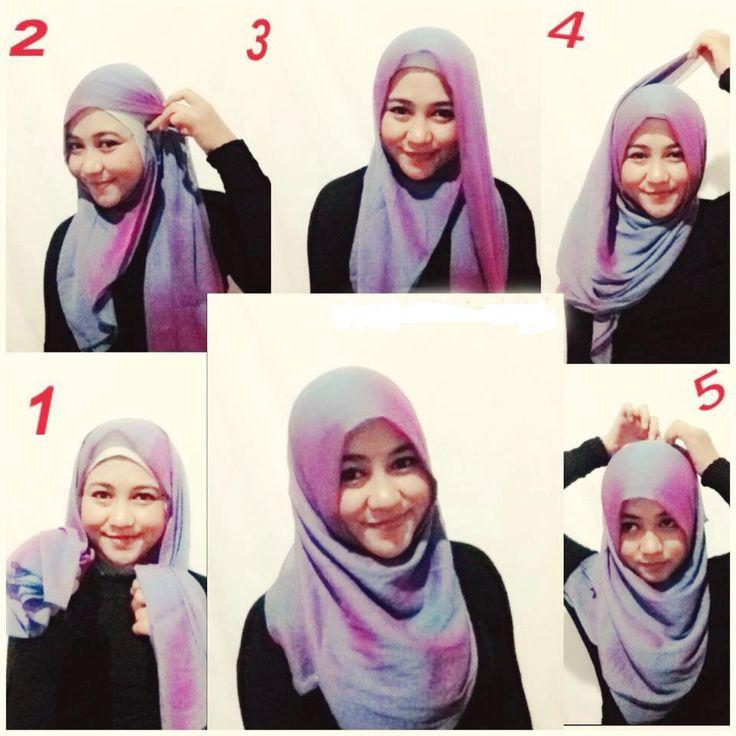 Tutorial Hijab Segi Empat Modern Namun Tetap Islami