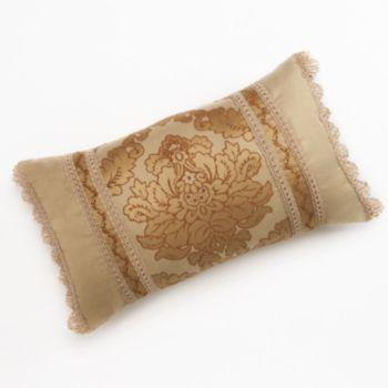 Bond Street Essex Bordered Damask Decorative Pillow