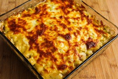... Layered Mexican Casserole Recipe with Chicken, Green Chiles, Pinto