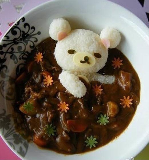 Awesome food presentation...only in Japan