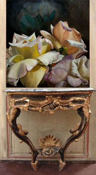 Floral art , interior decor/ Diana Watson artist