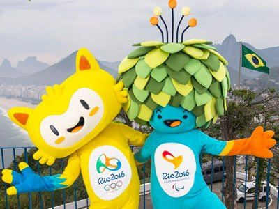 Rio 2016 mascots launched