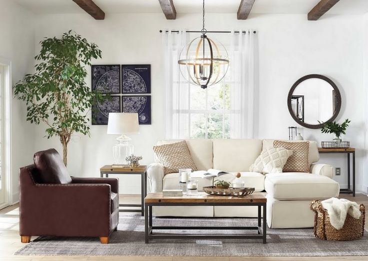 How To Create Your Own Modern Farmhouse Living Room