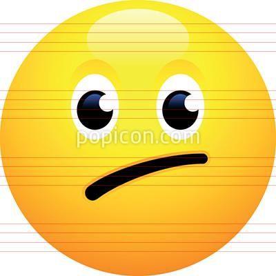 Confused Face Emoji