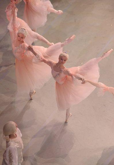 Waltz of the Flowers from the Mariinsky Ballet's Nutcracker. Photo by Mark Olich