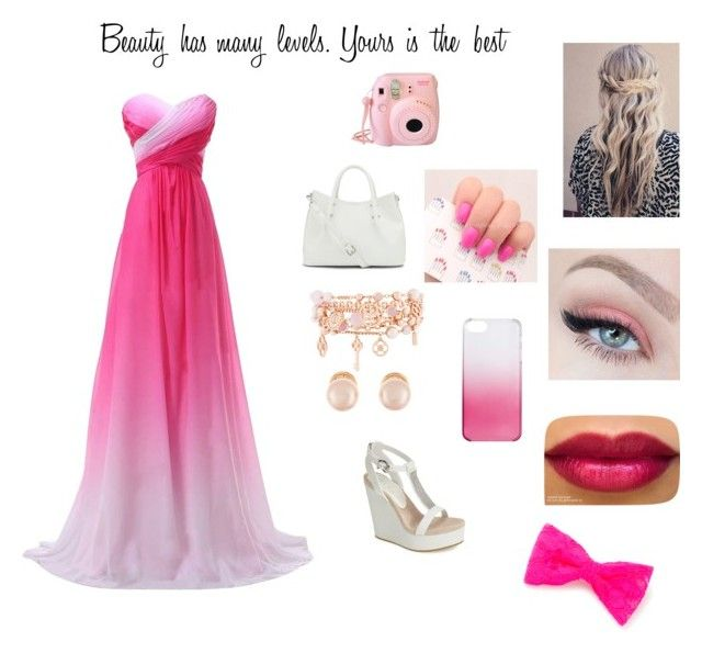 """""""Pretty in pink."""" by twinfreak101 on Polyvore featuring Lola Cruz, Kenneth Jay Lane, Henri Bendel, claire's, J.Crew and Vince Camuto"""