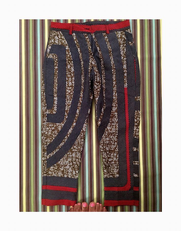 Ladies AfricanPrint Pants
