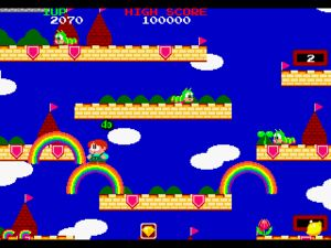 Rainbow islands XBOXille