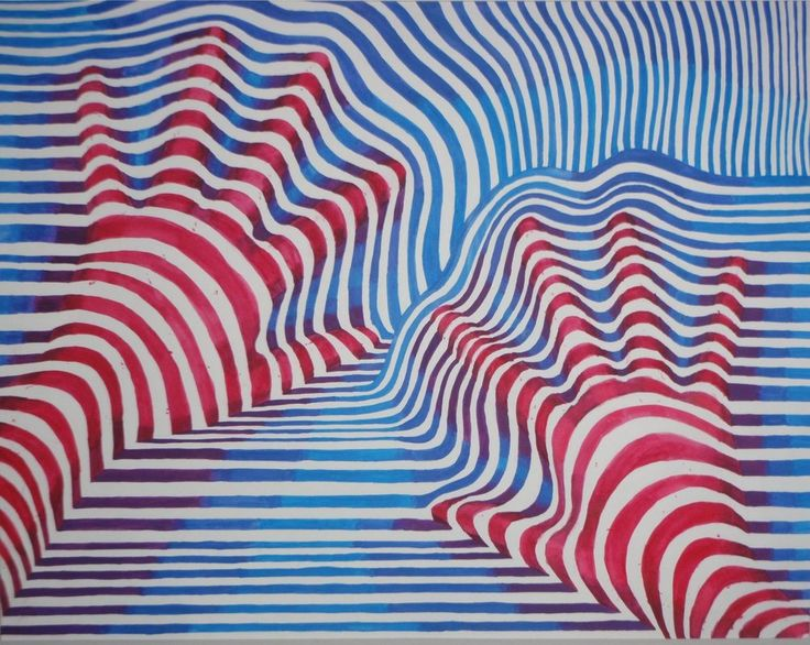 """Op art or """"optical"""" art is a style of visual art that uses optical illusions to create interesting abstract shapes and lines. For this assignment, we are going to create a piece of op art of our..."""