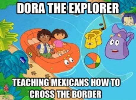 Dora The Explorer - funny pictures - funny photos - funny images - funny pics - funny quotes - #lol #humor #funny