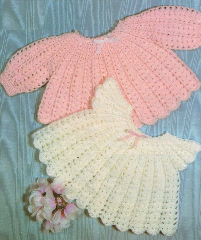 37 Creative Photo Of Vintage Crochet Baby Dress Pattern Crochet