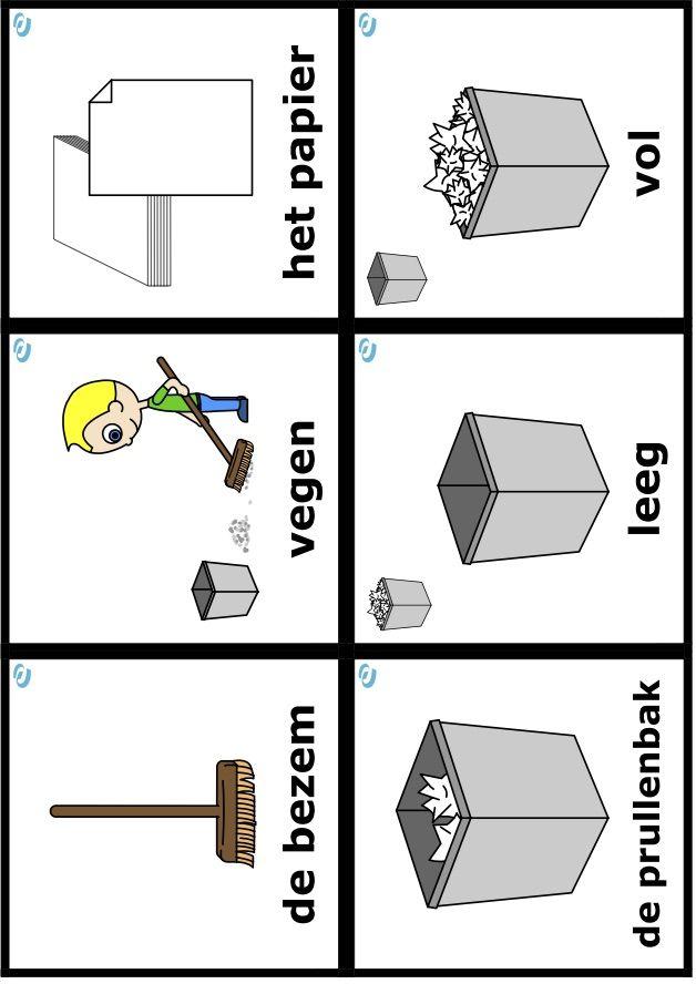 woordkaarten uk en puk, thema welkom puk