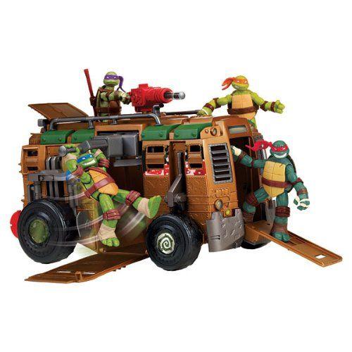 LEO Camion de combat Tortues Ninja