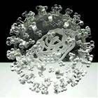 Artist Luke Jerram's viral sculptures reproduce bacteria and viruses like Swine Flu, HIV and E-coli in glass http://www.telegraph.co.uk/technology/picture-galleries/6151478/Artist-Luke-Jerrams-viral-sculp…