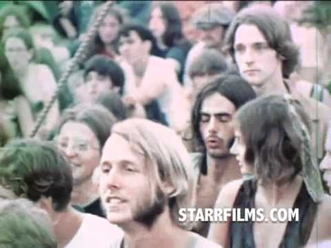 WOODSTOCK Music Festival Short Film 1970