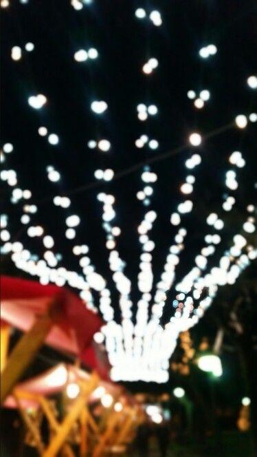 Sky full of lights