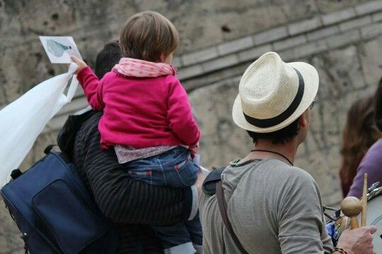 #life #child #father #love #family #Rome