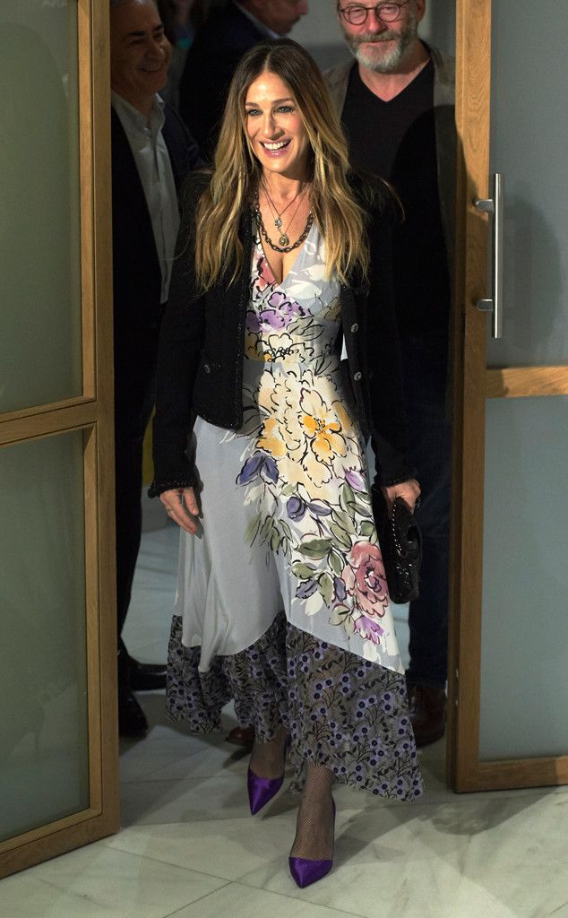 Sarah Jessica Parker from The Big Picture: Today's Hot Photos